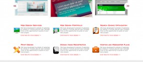 Systematick homepage design
