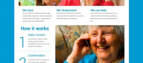 Care Chat website comp